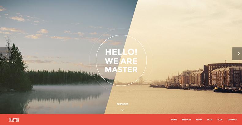 One Page HTML 5 Portfolio Template