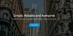 22+ HTML5 One Page Templates