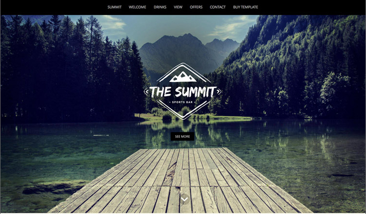 One Page Responsive HTML5 Template