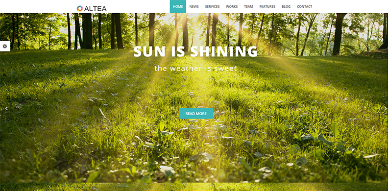 Parallax One Page HTML5 Template