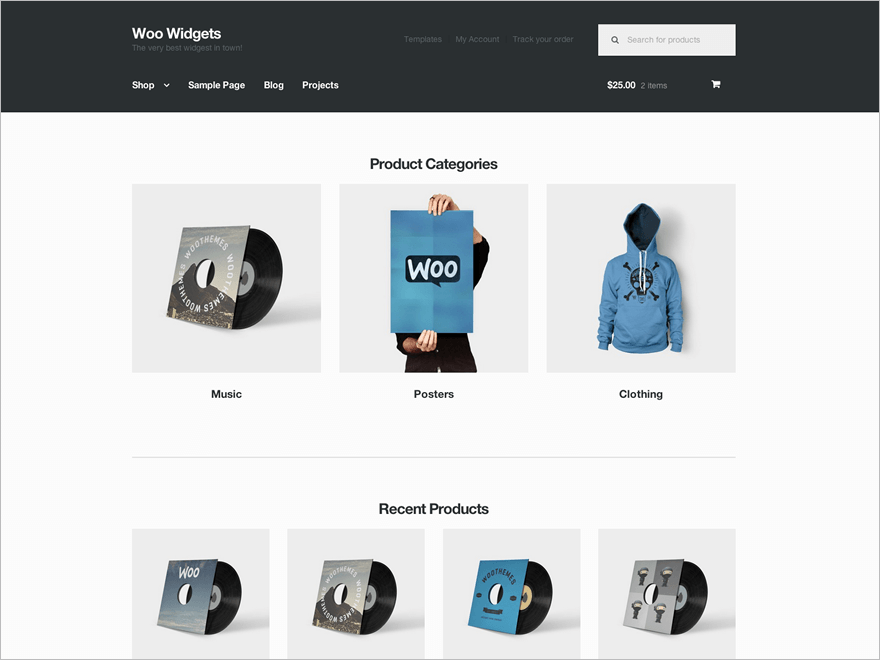 Perfect WordPress Theme for Woocommerce Project