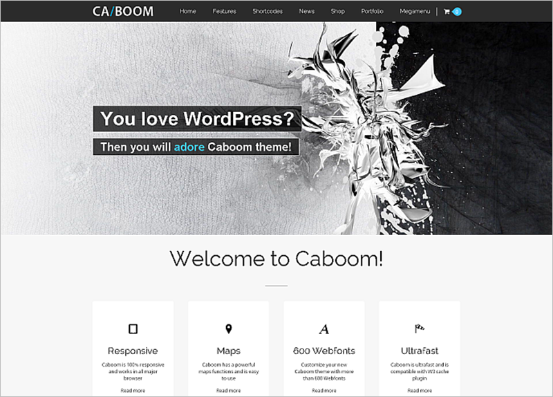 Powerful Multipurpose WordPress Template