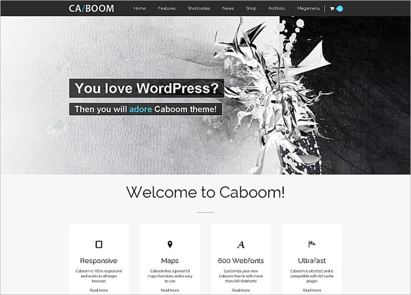 Powerful Multipurpose WordPress Template