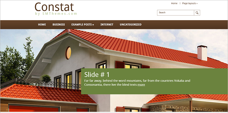 Real Estate WP Theme with Dynamic Content Loader