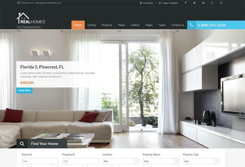 Real Homes WordPress Themes