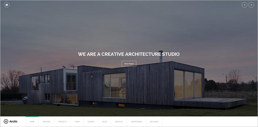Responsive Architecture & Creative WordPress Theme