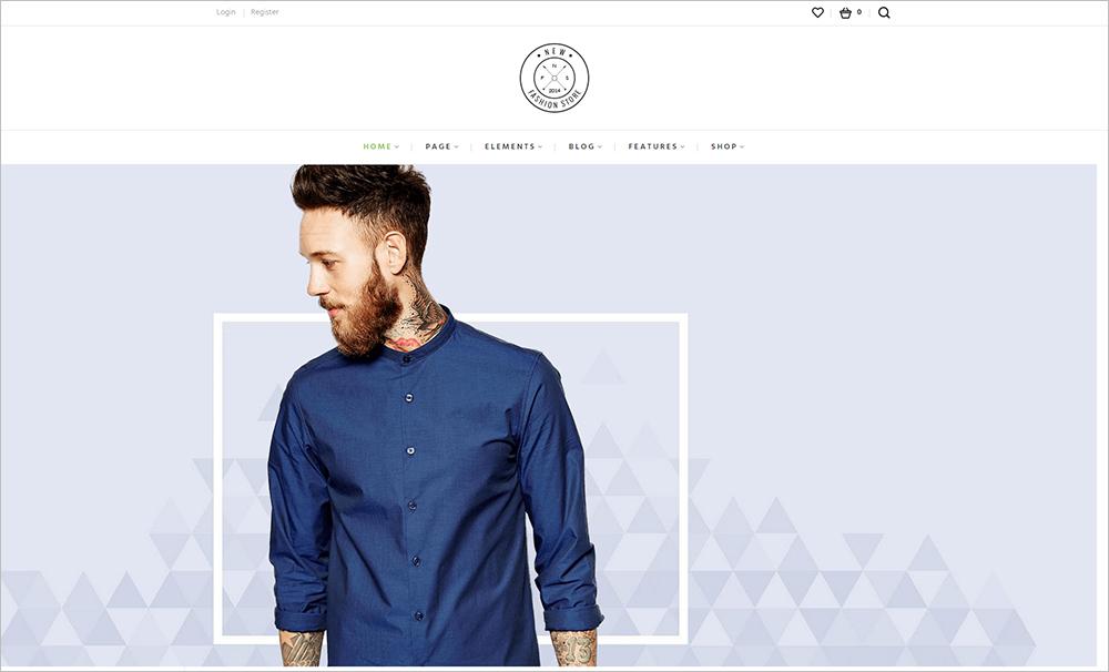 Responsive Fashion eCommerce WordPress Templates