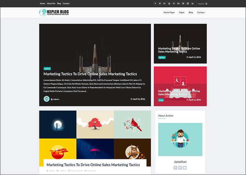 Responsive WordPress News-Magazine Theme
