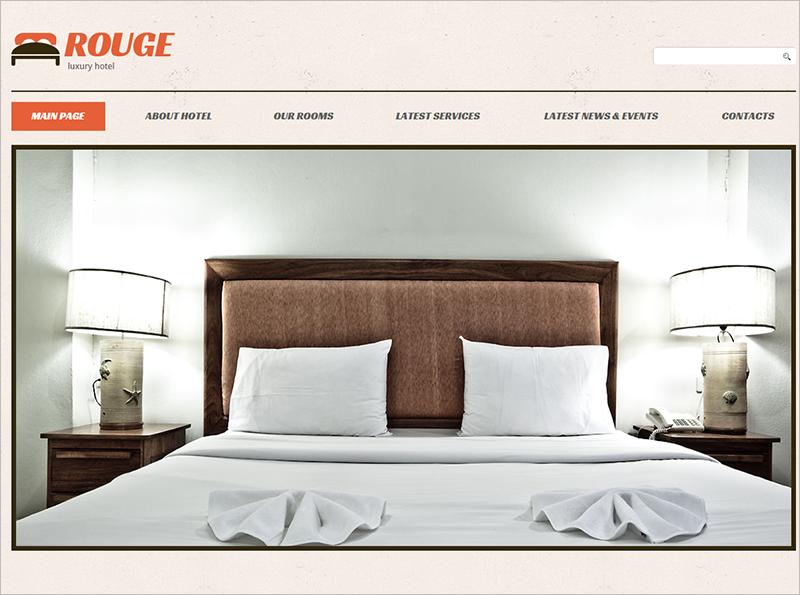 Responsive WordPress Theme For Hotel