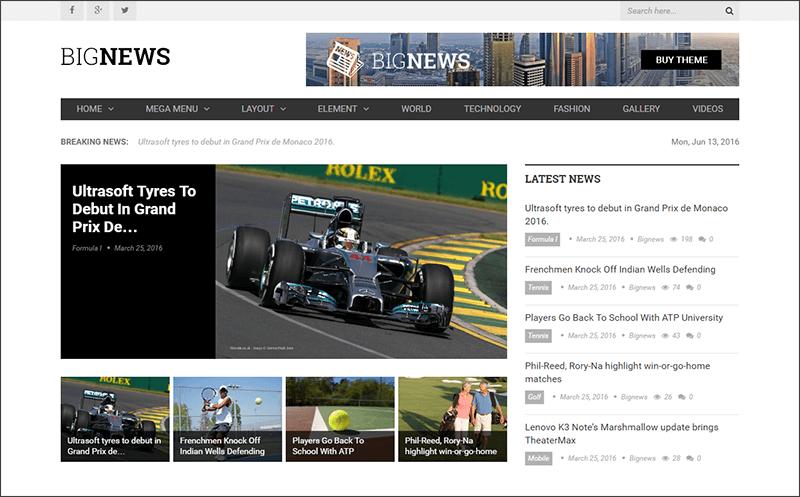 The Best News & Magazine WordPress Theme