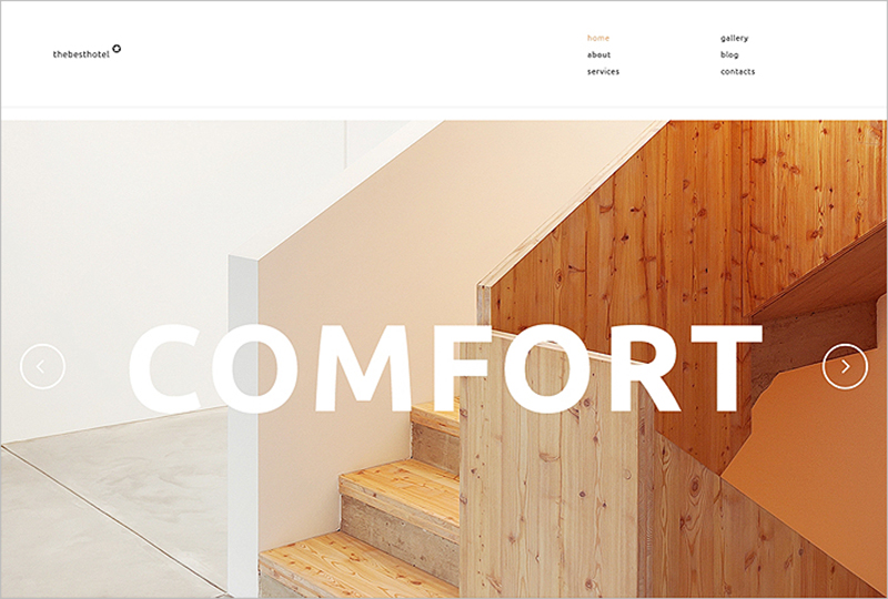 Travelers Accommodation WP Theme