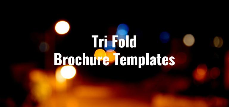 Tri Fold Brochure Templates