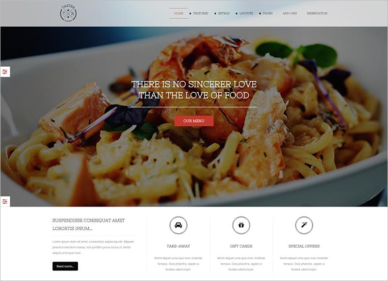 Ultimate Restaurant Joomla Website Template