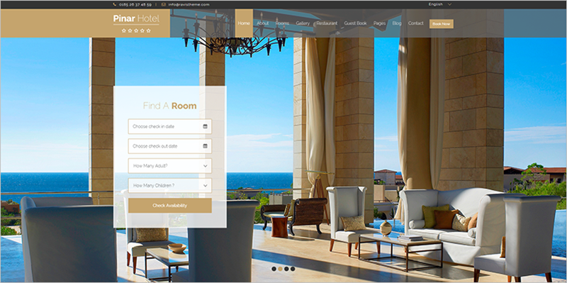 WP Star Hotel Template