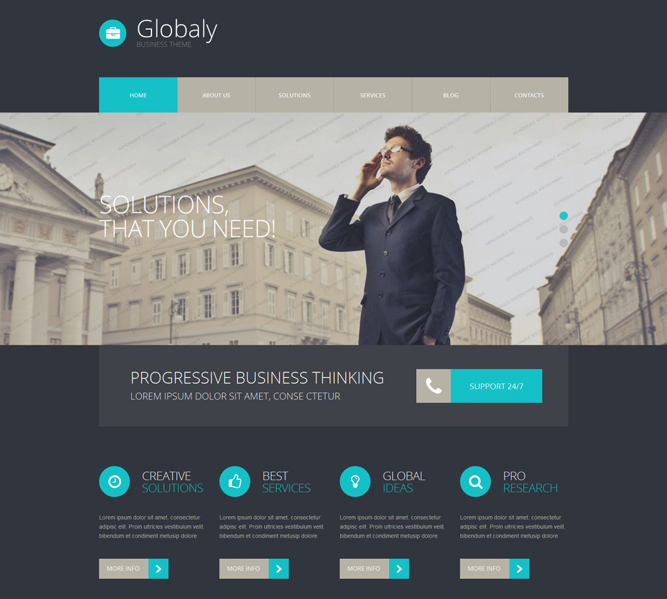 WordPress Business Theme Free Download