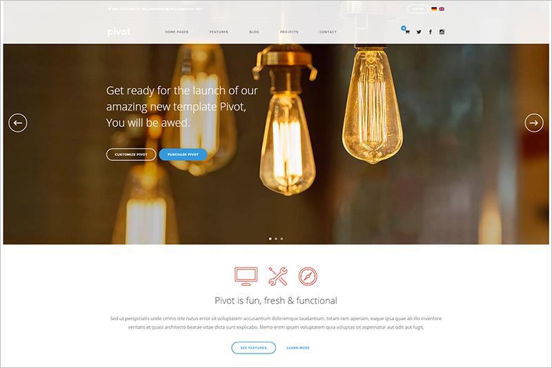WordPress Multipurpose Responsive Template