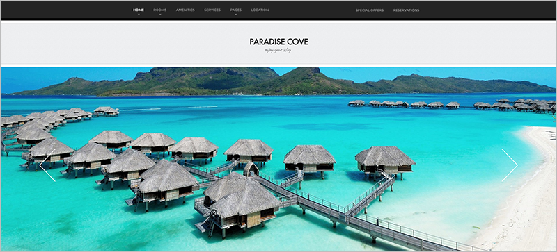 WordPress Theme For Holiday Hotel Booking