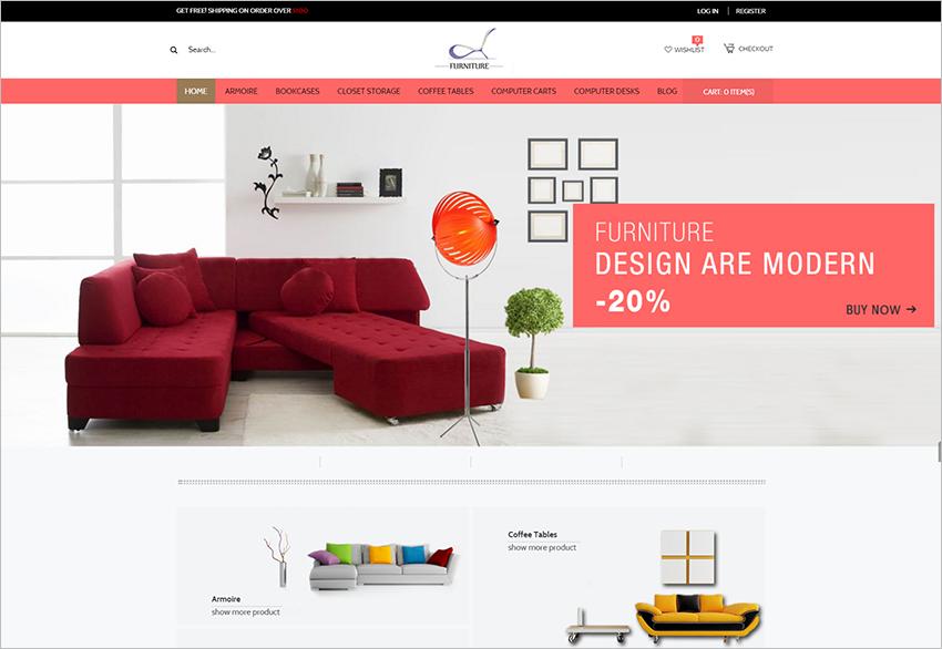 2015 Magento Furniture Theme