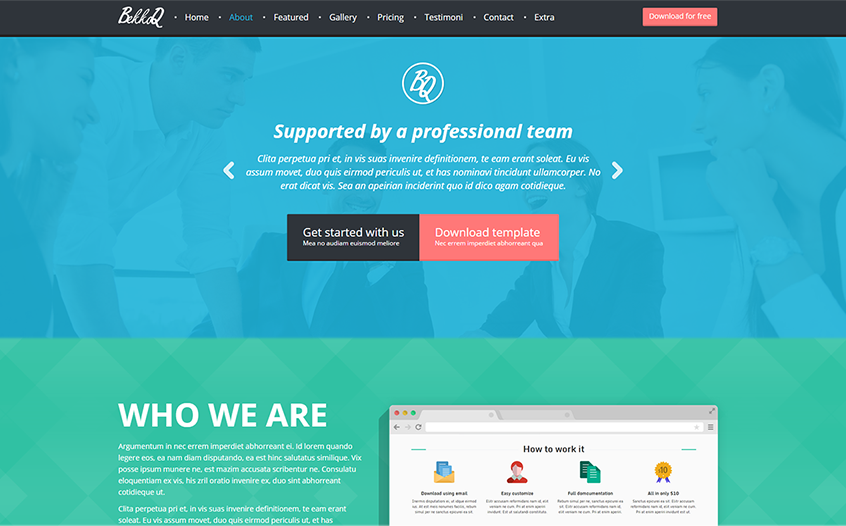 2015 MultiPurpose Landing Page Template Built On Bootstrap & HTML