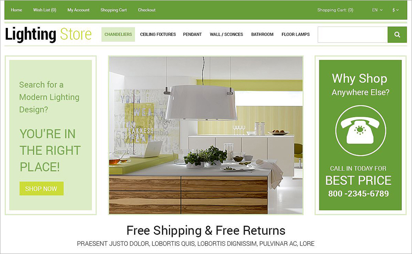 2015 Online Business Template