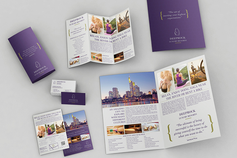 4 Pages Bifold Brochure