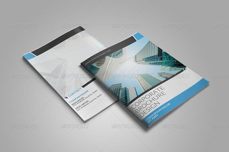 8 Page Bi-Fold Brochure Template