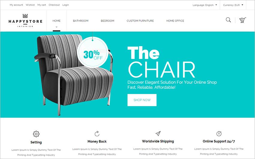 Accessories & Fashion Store PrestaShop Template