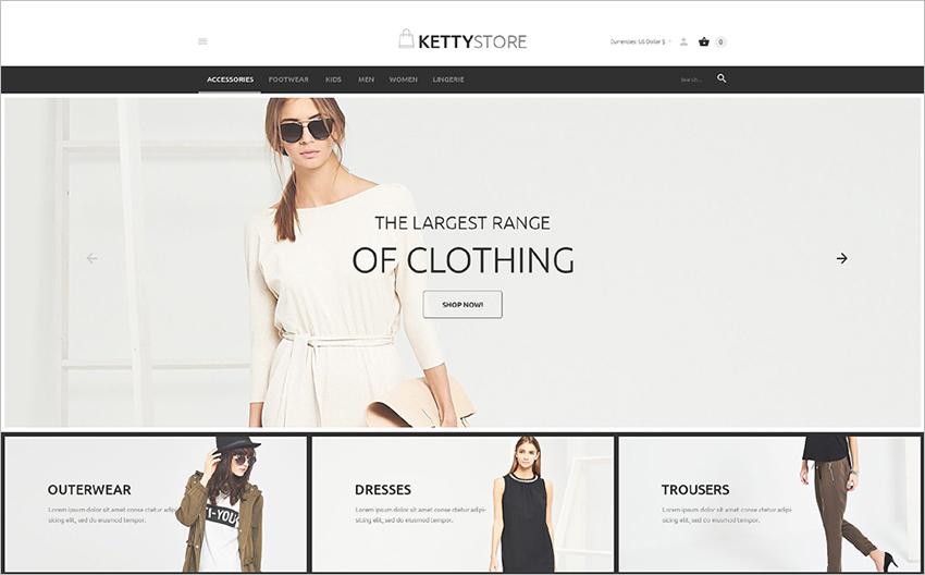 Apparel e-Store VirtueMart Template
