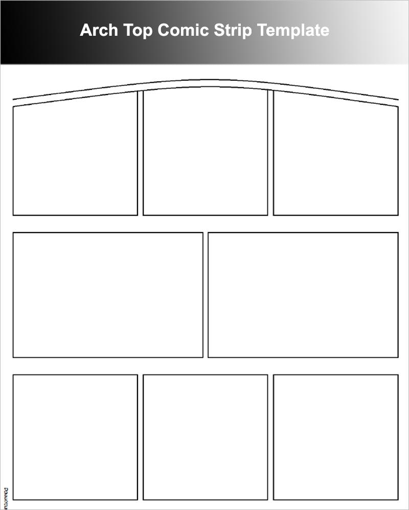comic strip template maker - how to make a cartoon strip on word