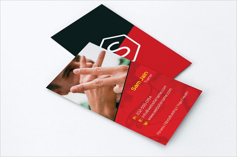 Artist & Photographers Business Card