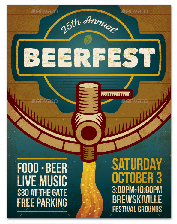 Beer Festival Event Poster