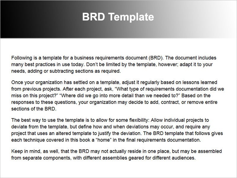 11 business requirements documents free pdf excel templates brd sample template friedricerecipe Gallery
