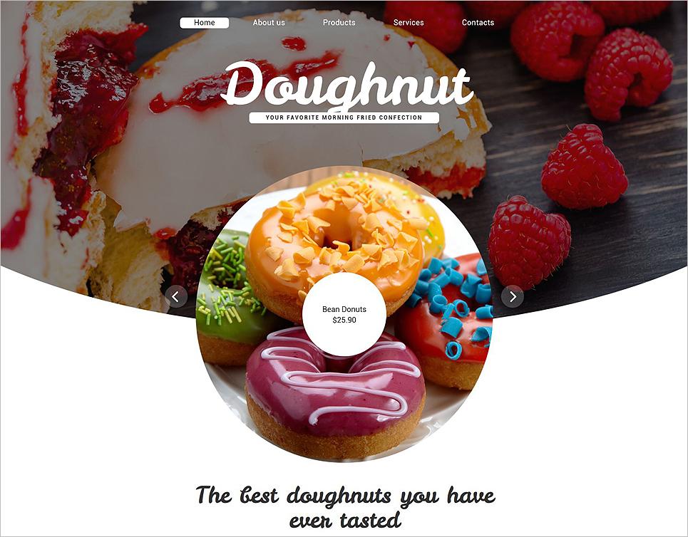 Bakery HTML Website Template