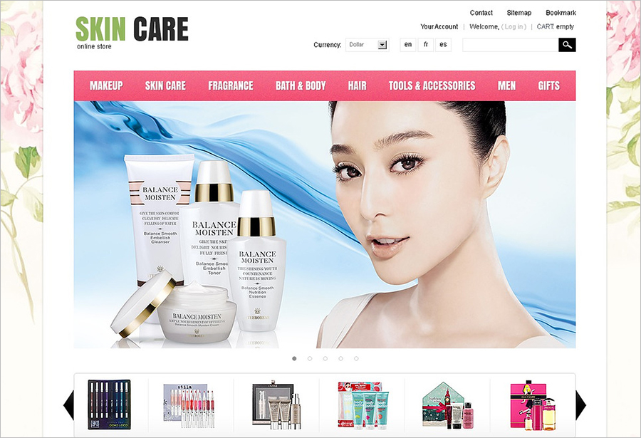 Beauty & Fashion Prestashope Theme