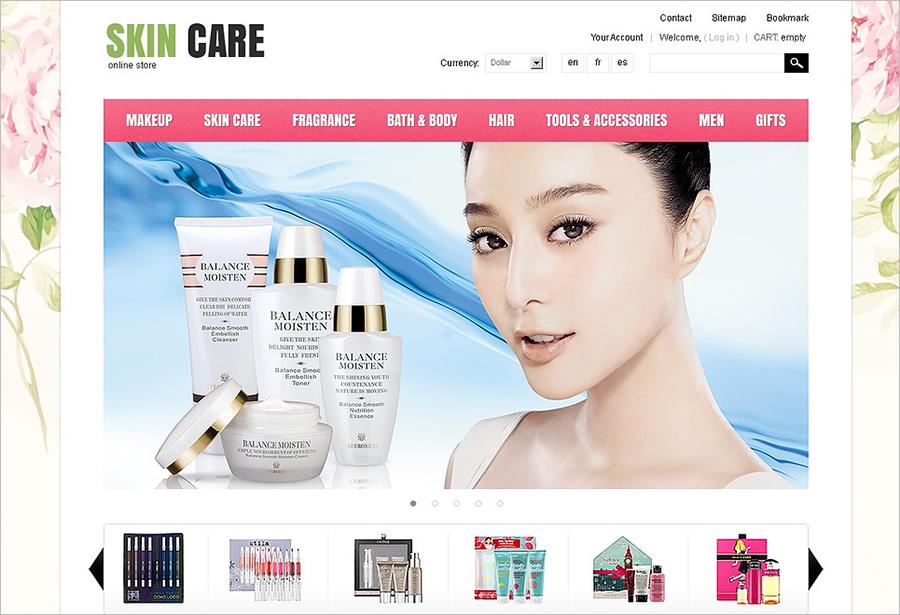 Beauty & Fashion Prestashope Theme