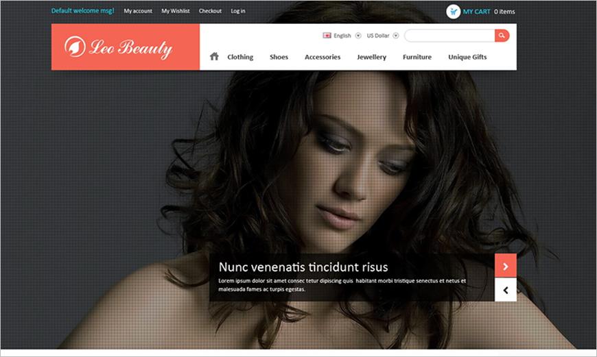 Beauty Store Prestashop Theme