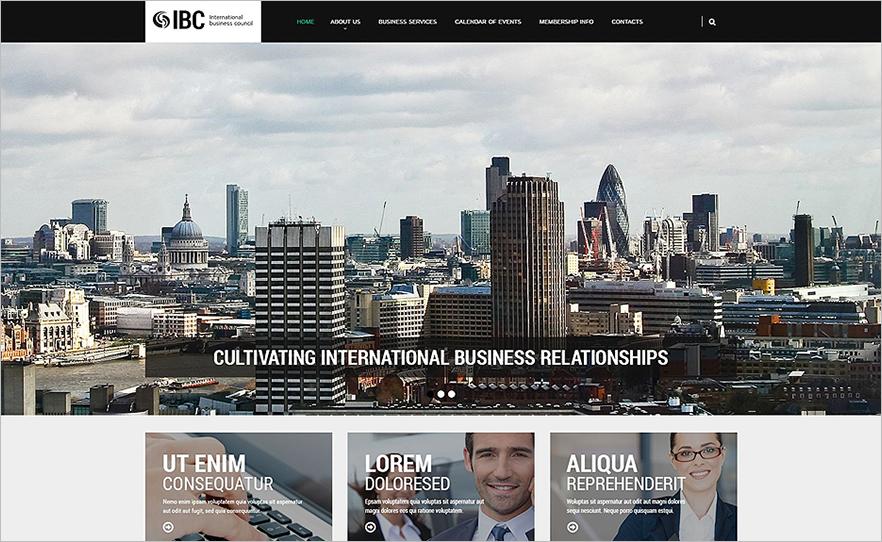 Best Business Responsive Bootstrap HTML Website Template