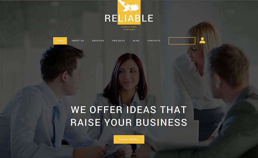 Best Joomla Template For Business