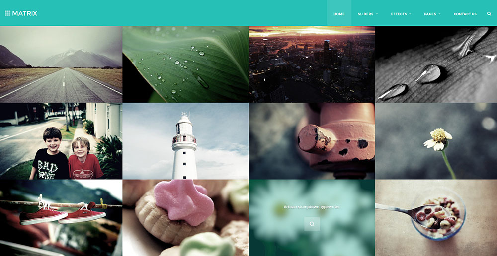 Bootstrap 3 Retina HTML Template