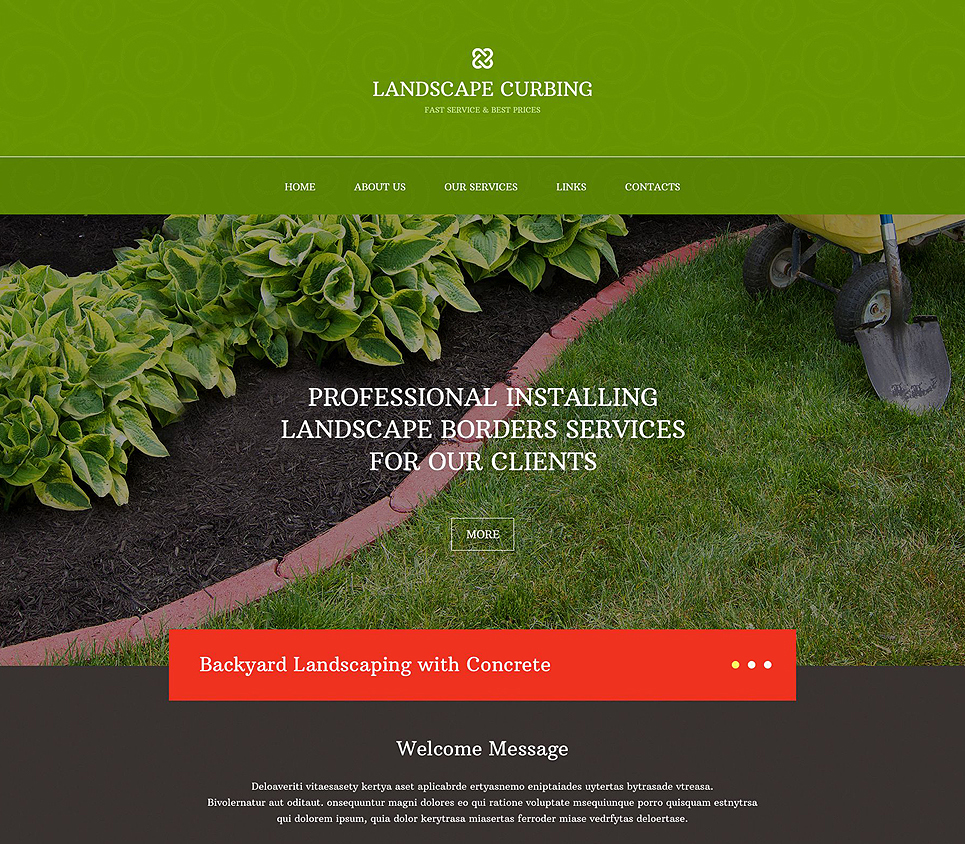 Bootstrap Business Website Template