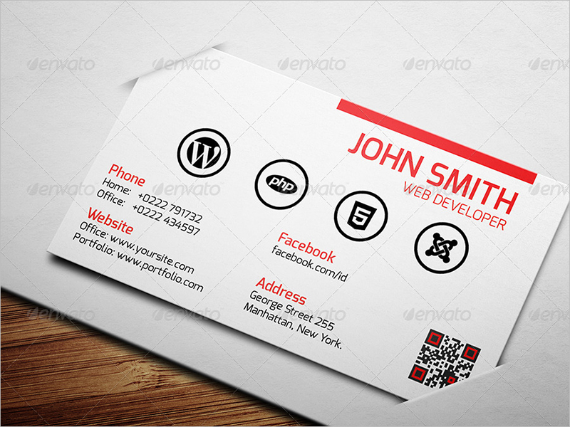 Web developer business card zrom web designer tip business cards freelance web designer tip fbccfo Gallery