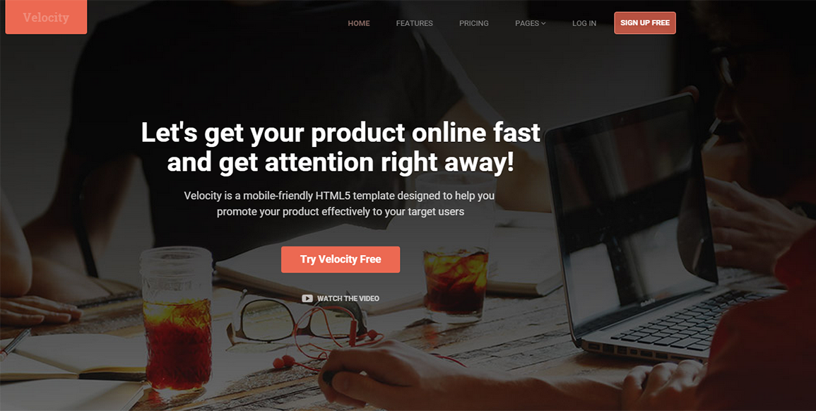 Business & Corporate HTML Bootstrap Theme
