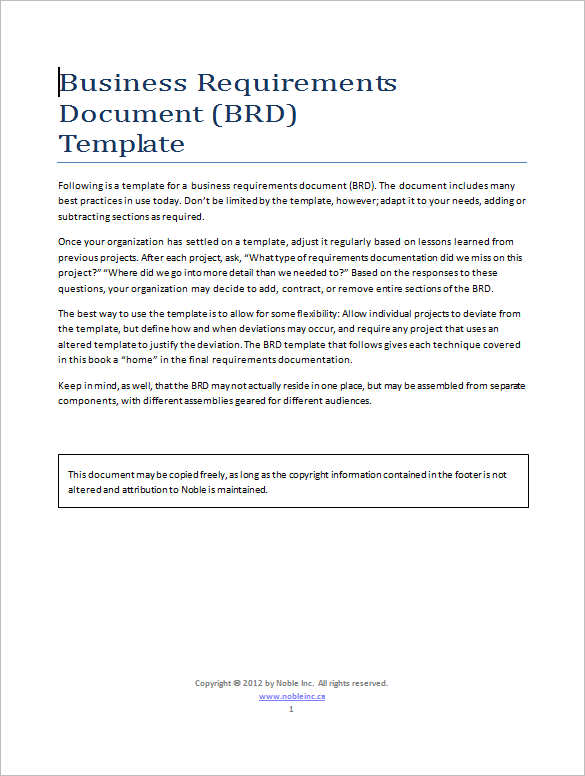 business-requirements-documents-templates