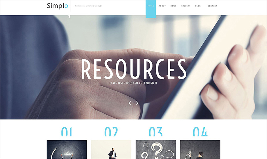 Business Responsive Website HTML5 Template
