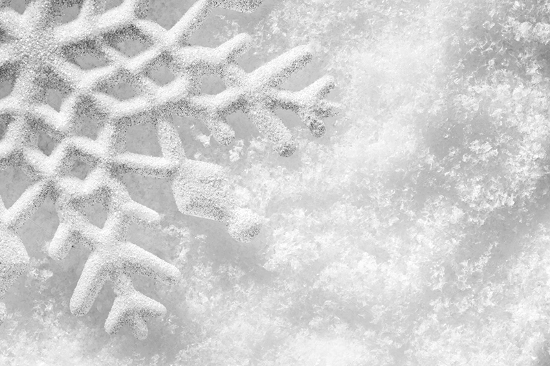 Christmas Snowflake Background Photo