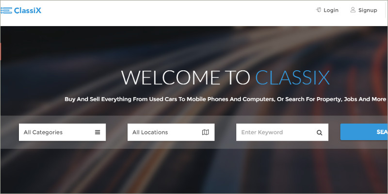 Classic Business HTML Template