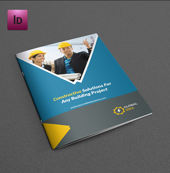 Construction Business Brochure Template