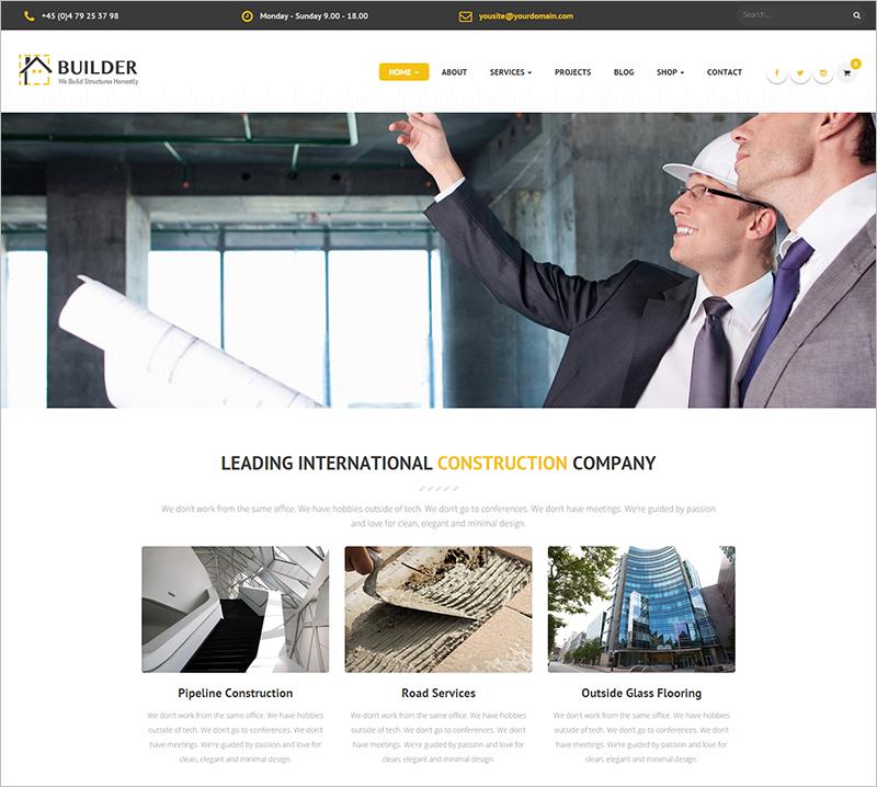 Construction Business Drupal Theme