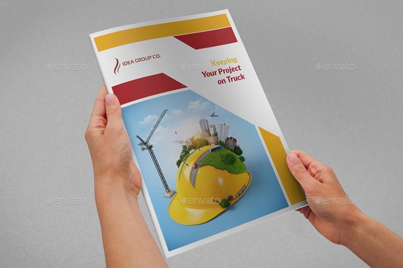 Construction Company Brochure Bundle
