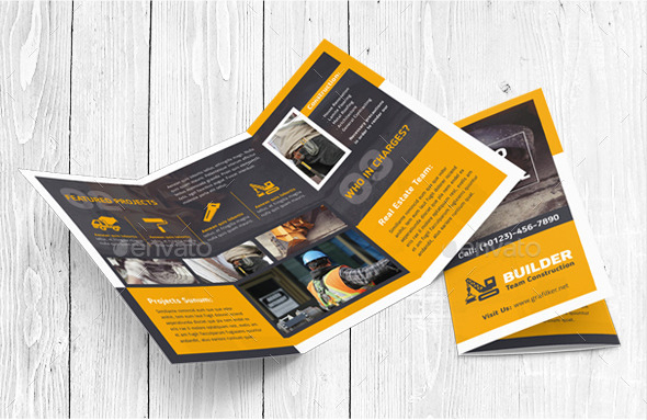 19 construction company brochure templates free pdf templates for Construction brochure design pdf